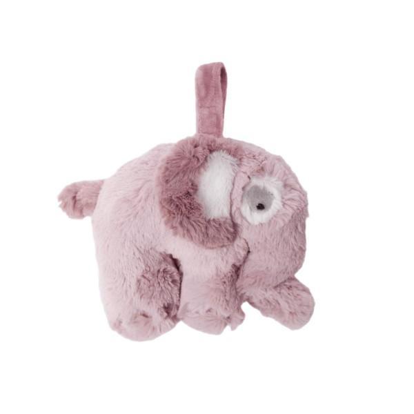 SEBRA Plüsch-Spieluhr, Elefant, altrosa
