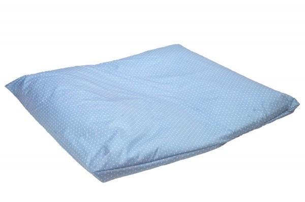 KULI MULI Wickelkissen SECURE 70x80 Punkte Blau