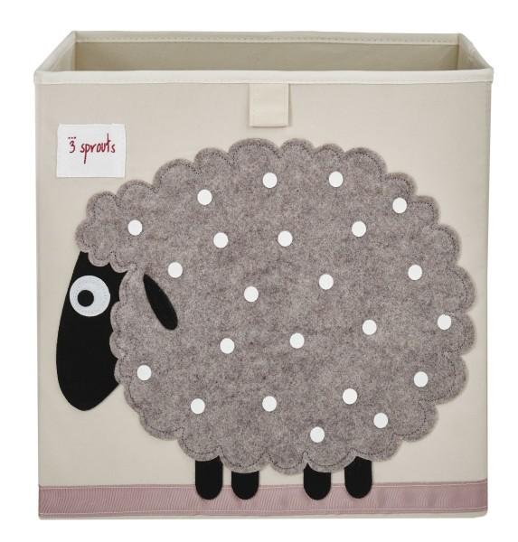 3 SPROUTS Spielzeugbox Schaf