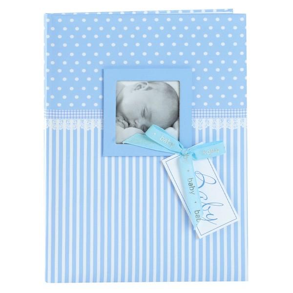GOLDBUCH Babytagebuch Sweatheart blau