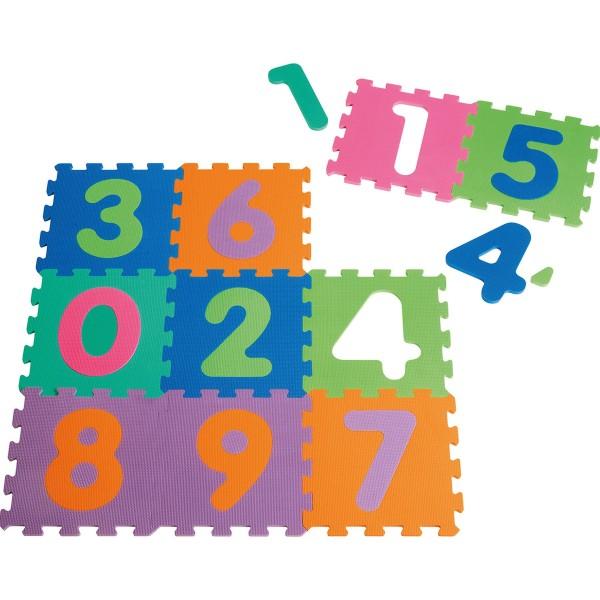 PLAYSHOES Puzzlematte 10-teilig