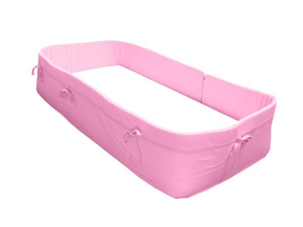 KULI MULI Rundumnestchen 420/30cm rosa