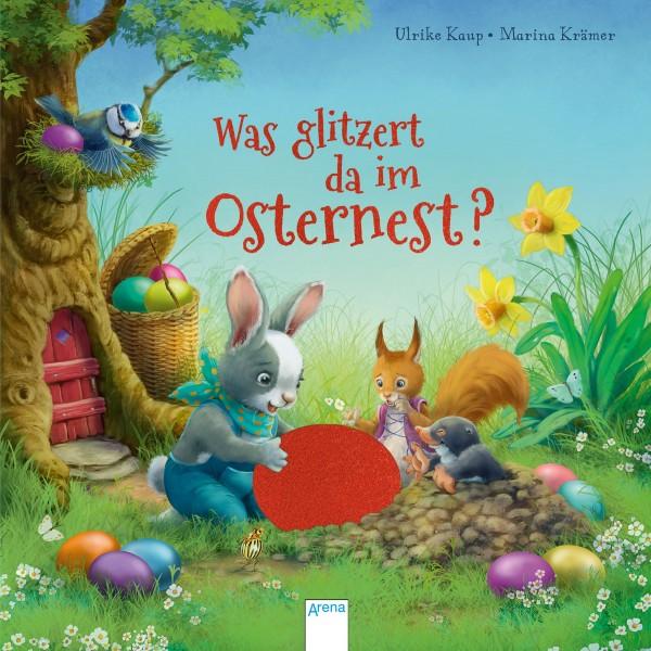 ARENA Was glitzert da im Osternest-Buch