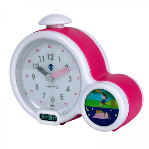 KID´SLEEP Wecker Clock Rosa