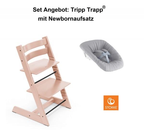 STOKKE Sonderaktion, Tripp Trapp Serene Pink + Newbornset