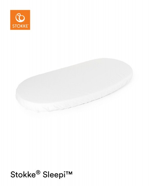 STOKKE® Junior Sleepi Spannbettlaken White