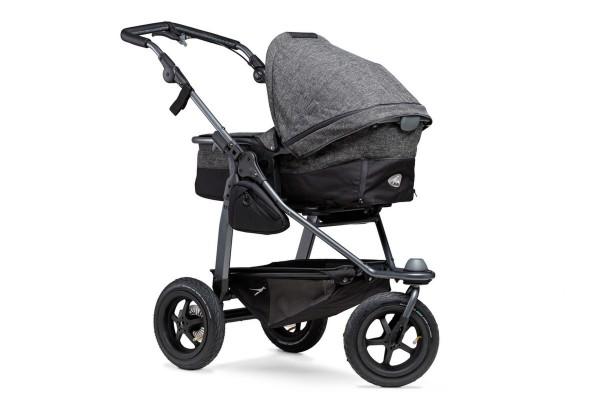 TFK Mono-Kombi Kinderwagen mit Luftrad-Set PREMIUM anthrazit