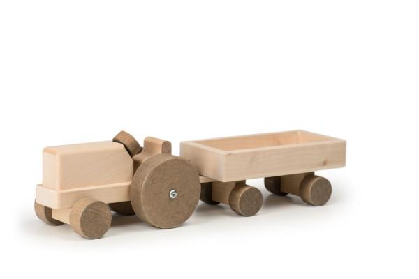 TRAUFFER Traktor mit Anhänger