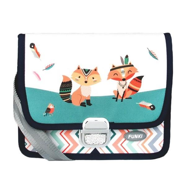 FUNKI Kindergarten Tasche Indian Foxes