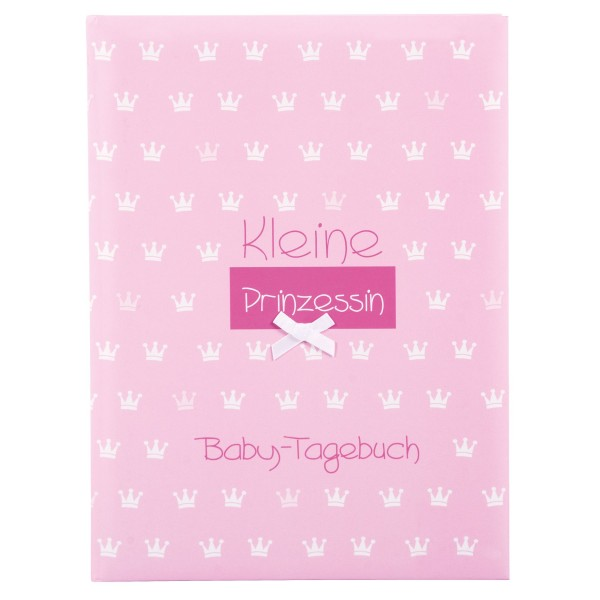 GOLDBUCH Babytagebuch Kleine Prinzessin rosa