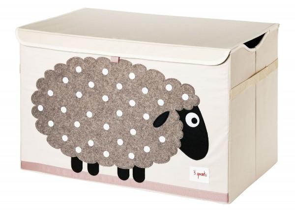 3 SPROUTS Spielzeugkiste Schaf