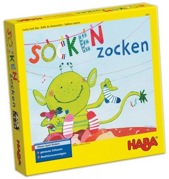 HABA Spiel Socken Zocken