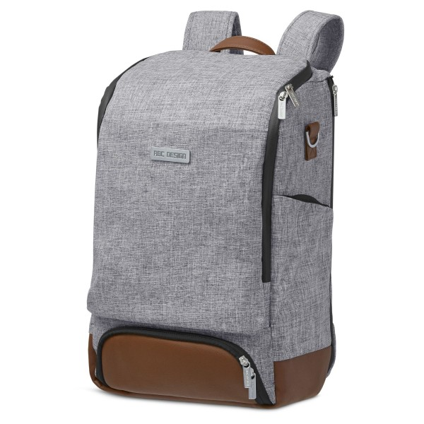 ABC DESIGN Wickelrucksack Tour - Classic graphite grey