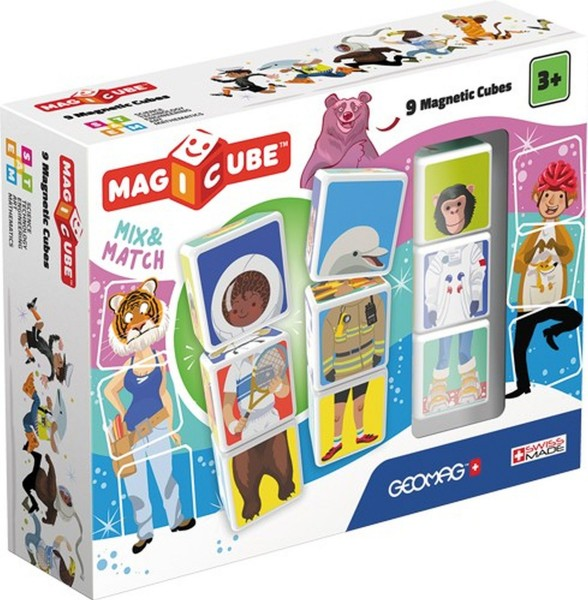 GEOMAG Magicube Mix & Match 9 cubes