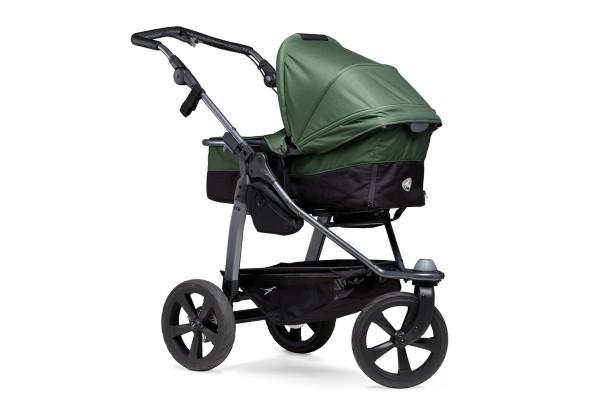 TFK Mono-Kombi Kinderwagen mit Luftkammerräder olive