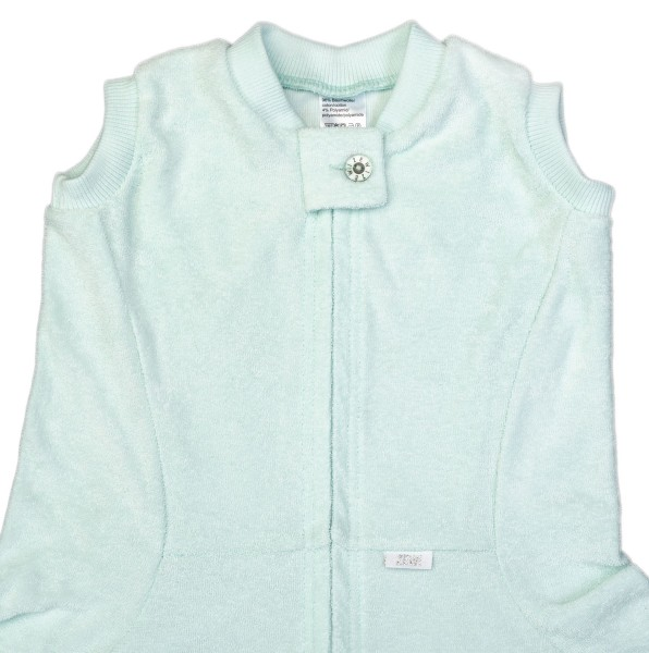 ZEWI bébé-jou Zewi-Decke Spezialmasse-mint Gr. 140x200cm
