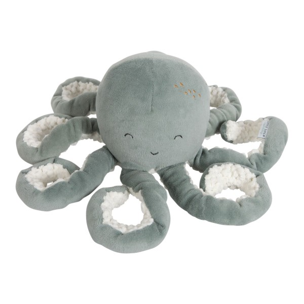LITTLE DUTCH Kuschel Oktopus - Ocean mint