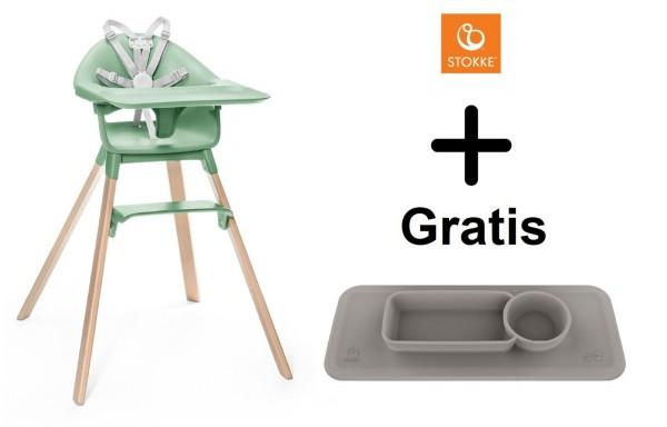 SONDERAKTION STOKKE® Clikk Clover Green mit GRATIS EZPZ