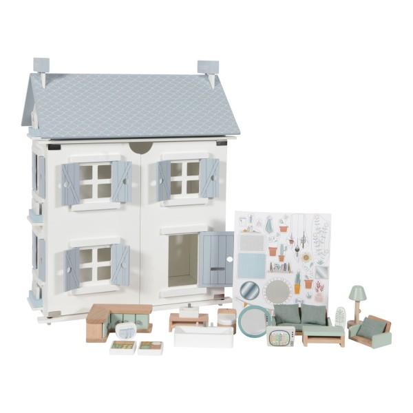 LITTLE DUTCH Puppenhaus – 20-teilig