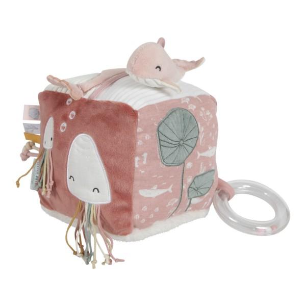 LITTLE DUTCH Aktiv-Würfel Soft - Ocean pink