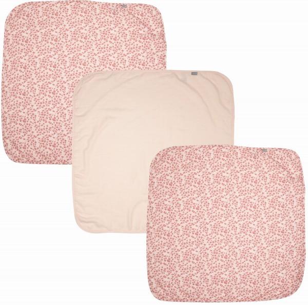 ZEWI bébé-jou Muslin Tücher 3 Stk.-pink Leopard